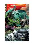 Hulk: Broken Worlds No.2 Cover: Hulk Posters by Pelletier Paul