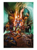 Dark Avengers/Uncanny X-Men: Utopia No.1 Cover: Iron Patriot Posters by Silvestri Marc