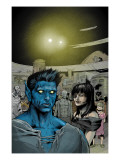 Ultimate X-Men No.83 Headshot: Nightcrawler, Callisto and Caliban Prints by Alixe Pascal