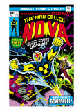 Nova: Origin Of Richard Rider - The Man Called Nova No.1 Cover: Nova Posters by John Buscema