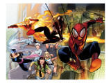 Ultimate Comics Spider-Man 1 Cover: Spider-Man Prints by LaFuente David