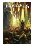 Eternals No.1 Cover: Eternals Art