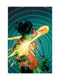 Marvel Knights 4 No.11 Cover: Mr. Fantastic Print by MCNiven Steve