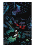 Marvel Adventures Spider-Man 42 Cover: Black Cat, Spider-Man and Puma Prints by Michael Ryan