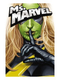 Ms. Marvel 25 Cover: Ms. Marvel Posters by Greg Horn