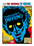 Uncanny X-Men Annual No.4 Headshot: Nightcrawler Affischer av Romita Jr. John