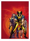 Wizards Wolverine 30th Anniversary Special Cover: Zombie and Wolverine Kunstdrucke von Romita Jr. John