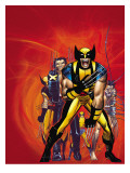 Wizards Wolverine 30th Anniversary Special Cover: Zombie and Wolverine Affischer av Romita Jr. John