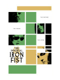 Immortal Iron Fist 16 Cover: Cage, Luke and Iron Fist Prints
