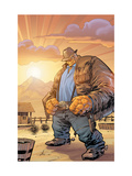 Marvel Adventures Fantastic Four 32 Cover: Thing Prints by Kirk Leonard