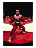 The Amazing Spider-Man No.572 Cover: Bullseye Prints by John Romita Jr.