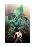Incredible Hulk No.604 Cover: Banner, Bruce and Skaar Posters by Ariel Olivetti