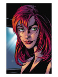 Ultimate Spider-Man 78 Headshot: Mary Jane Watson Posters by Mark Bagley