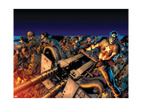 Captain America Reborn No.3 Cover: Captain America Prints by Bryan Hitch
