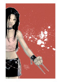 X-23 1 Cover: X-23 Prints by Tan Billy