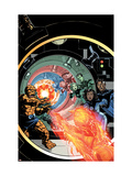Marvel Adventures Fantastic Four No.25 Cover: Human Torch Prints by Smith Paul