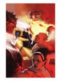 Marvel Divas No.4 Cover: Hellcat, Black Cat, Firestar and Photon Prints