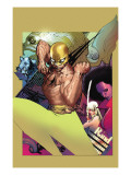 The Immortal Iron Fist 20 Cover: Iron Fist Posters by Foreman Travel