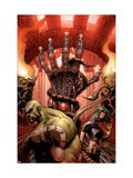 Incredible Hulk No.85 Cover: Hulk and Scorpion Print by Andy Brase