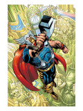 Thor No.78 Cover: Thor Prints by Scot Eaton