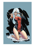 The Amazing Spider-Man 607 Cover: Black Cat Kunstdrucke von Campbell J. Scott