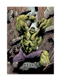 Hulk: Destruction No.1 Cover: Hulk Poster by Jim Muniz