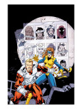 Alpha Flight No.9 Cover: Major Mapleleaf Posters por Henry Clayton