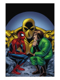 Marvel Adventures Spider-Man 11 Cover: Spider-Man and Mad Thinker Affiches par Mike Norton
