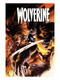 Wolverine 51 Cover: Wolverine and Sabretooth Affiches