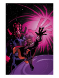 What If Thor 1 Cover: Thor and Galactus Poster by Michael Avon Avon Oeming