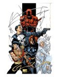 Marvel Spotlight: Marvel Knights 10th Anniversary Cover: Daredevil Prints by Joe Quesada