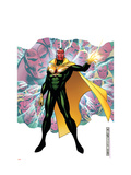 Young Avengers Presents 4 Cover: Vision Prints by Jim Cheung