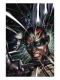 X-Force 8 Cover: X-23 and Vanisher Affiches par Choi Mike
