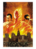 The Marvels Projects 1 Cover: Human Torch Prints by MCNiven Steve