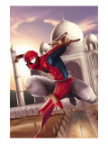 Spider-Man: India No.2 Cover: Spider-Man Poster by Suresh Seetharaman