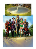 Uncanny X-Men No.447 Group: Marvel Girl, Storm, Nightcrawler, Wolverine, Bishop, Sage and X-Men Posters by Alan Davis