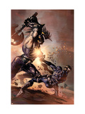 Dark Avengers No.9 Cover: Ares and Nick Fury Posters by Mike Deodato Jr.