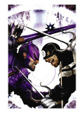 Dark Reign: Hawkeye 2 Cover: Hawkeye and Bullseye Poster by Clint Langley