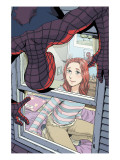 Spider-Man Loves Mary Jane No.4 Cover: Spider-Man, and Mary Jane Watson Posters by Miyazawa Takeshi