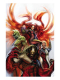 Secret Invasion: Inhumans 3 Cover: Medusa, Gorgon, Karnak and Triton Prints by Sejic Stjepan