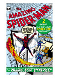 Amazing Spider-Man 1 Cover: Spider-Man Poster by Ditko Steve