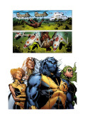 Astonishing X-Men 32 Group: Beast, Brand, Abigail, Armor and Storm Prints by Phil Jimenez