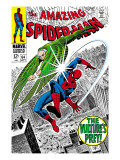 The Amazing Spider-Man 64 Cover: Vulture and Spider-Man Fighting Posters by Don Heck