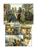 Runaways No.27 Group: Mancha, Victor, Stein, Chase, Hayes, Molly, Minoru, Nico, Dean and Karolina Prints by Michael Ryan
