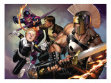 Secret Warriors 8 Cover: Ares and Phobos Prints by Jim Cheung