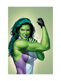 She-Hulk 9 Cover: She-Hulk Poster by Mike Mayhew