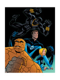 Fantastic Four Tales No.1 Group: Black Panther, Mr. Fantastic, Invisible Woman and Thing Prints by OHare Michael