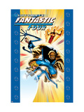 Ultimate Fanastic Four 13 Cover: Mr. Fantastic Print by Adam Kubert