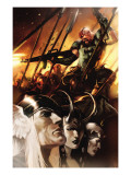 Thor God-Size Special No.1 Cover: Thor, Loki, Balder and Skurge Prints