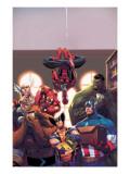 Marvel Reading Chronology 2009 Cover: Spider-Man Affiche par Jorge Molina